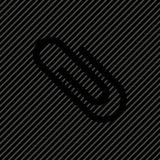 attach, attachment, clip, email, file, paper, paper clip icon