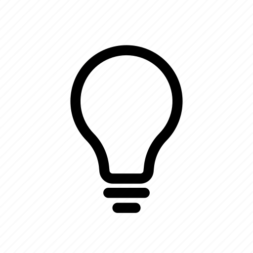 bulb, energy, idea, imagine, light, smart, wise icon