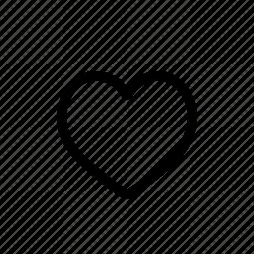 like, love, romance, social, valentine icon