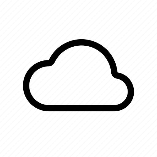 cloud, cloudy, internet, server, weather, web icon
