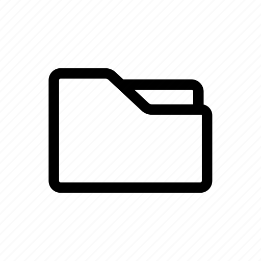 file, folder, organize, study, work icon