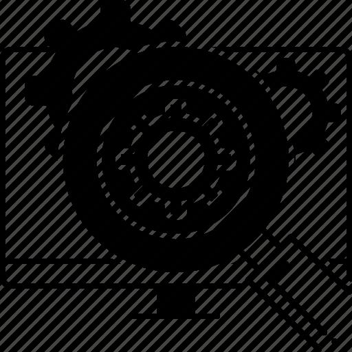 analysis, functional, functional analysis, methodology, process icon