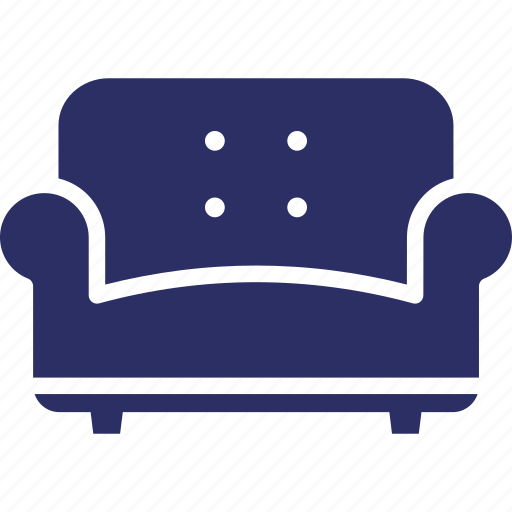 Couch Furniture Seat Sofa Settee Sofa Icon