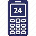 call support, cell phone, mobile, mobile helpline, smartphone icon