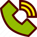 communication, connection, network, phone, telephone icon