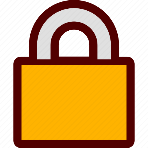 lock, locked, safety, secure icon