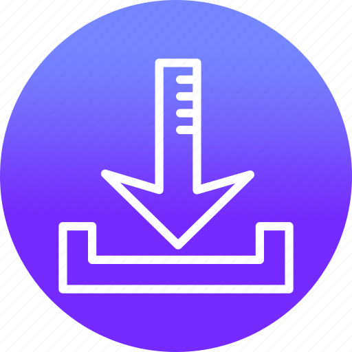 Arrow, arrows, direction, down, download, web icon - Download on Iconfinder