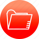 archive, document, file, files, folder, format icon