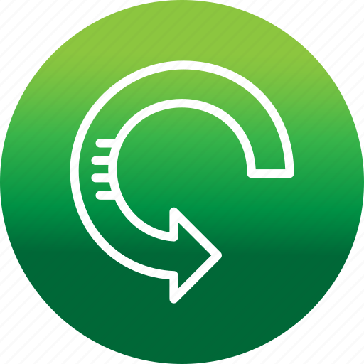 arrow, pointer, refresh, reload, rotate, sync icon
