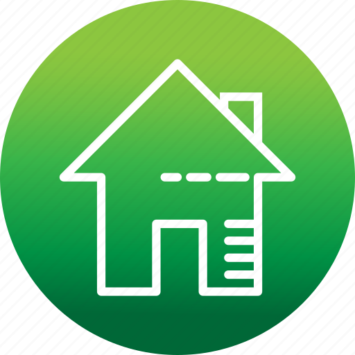 architecture, building, home, house, real estate icon