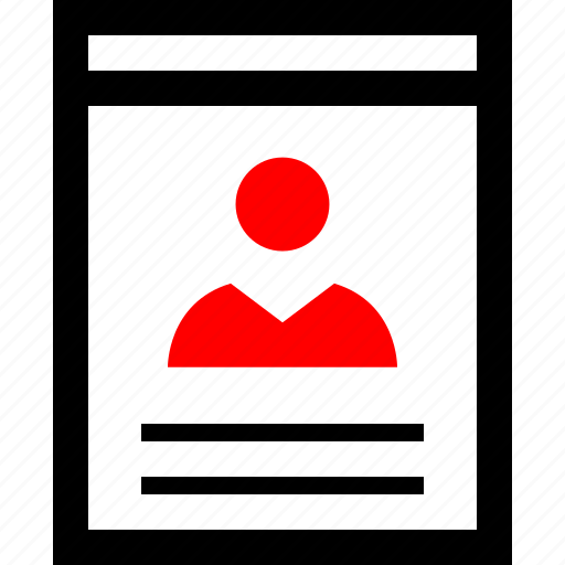 data, user, wireframes icon