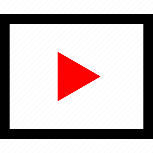 action, media, play, video icon