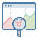 analytics, graph, monitoring, sales report icon
