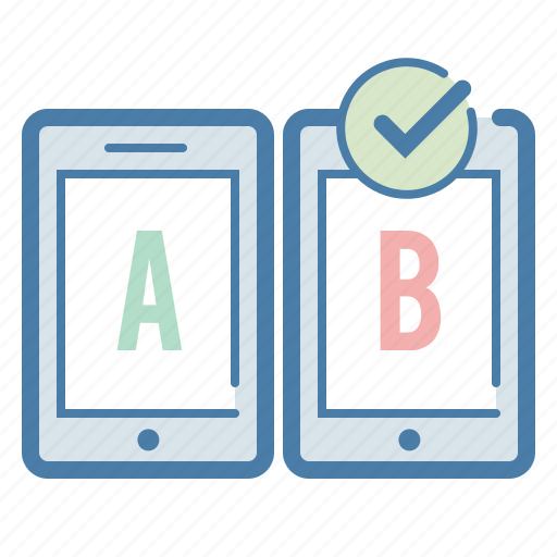 ab testing, compare, evaluation, feedback, test, testing, usability icon