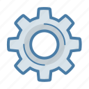 configuration, gear, options, preferences icon