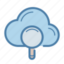 cloud, data quality, database, storage icon