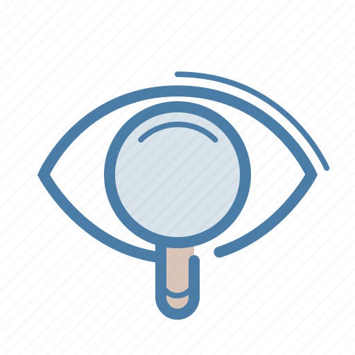 advertising, cost per impression, cpm, eye, internet marketing, magnifier, search icon