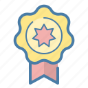 achievement, award, page quality, reputation icon