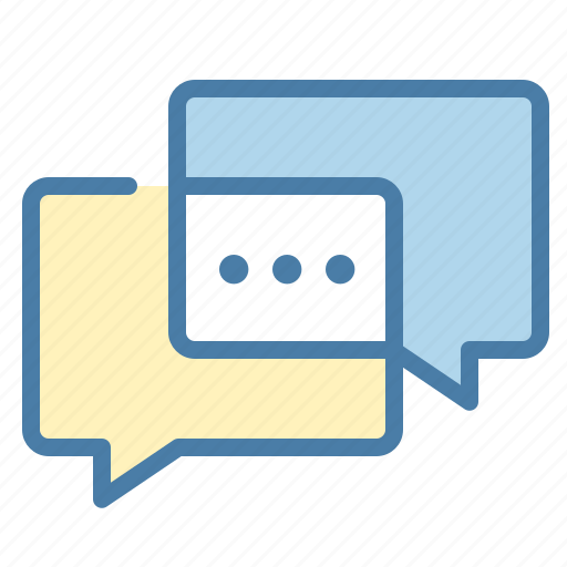 chat, chatting, communication, conversation, dialog, interaction, talking icon