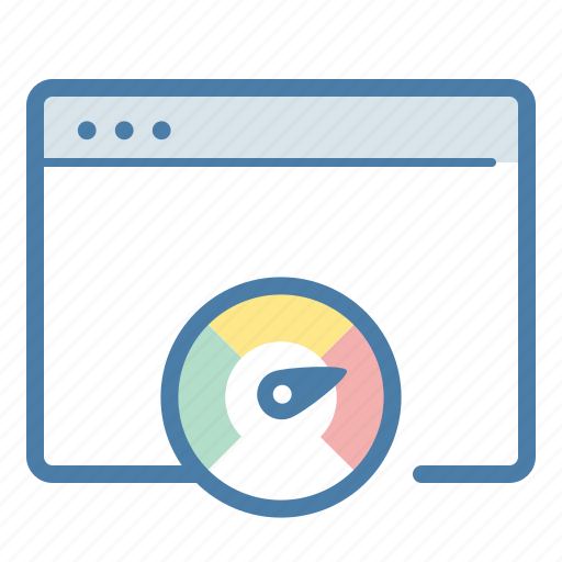 application, browser, page, page speed, server response, speed, speedometer icon