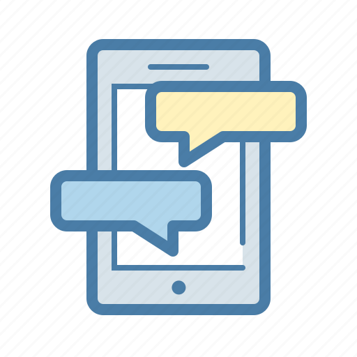 chat, communication, message, mobile, phone, sms, talk icon