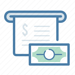 billing, checkout, invoice, money, payment, salary, transaction icon
