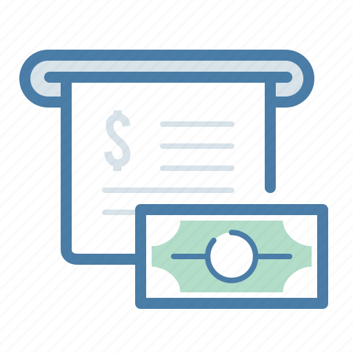 billing, checkout, invoice, payment icon