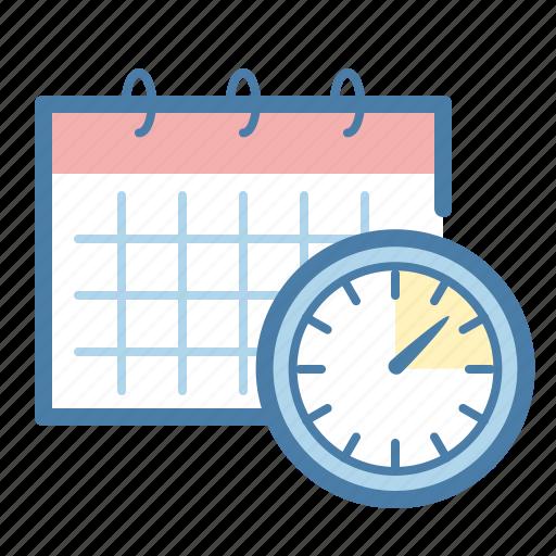 Calendar, clock, deadline icon - Download on Iconfinder