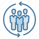 communication, group, leadership, management, organization, team, teamwork icon