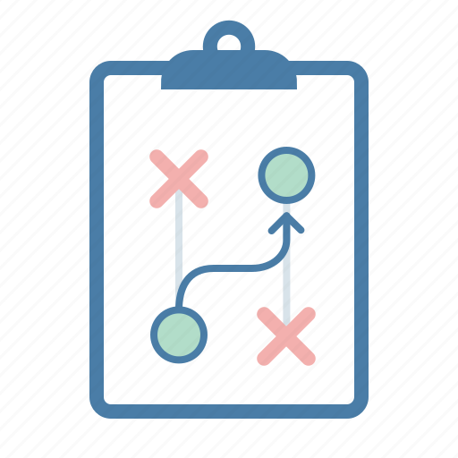 clipboard, management, planning, strategy icon