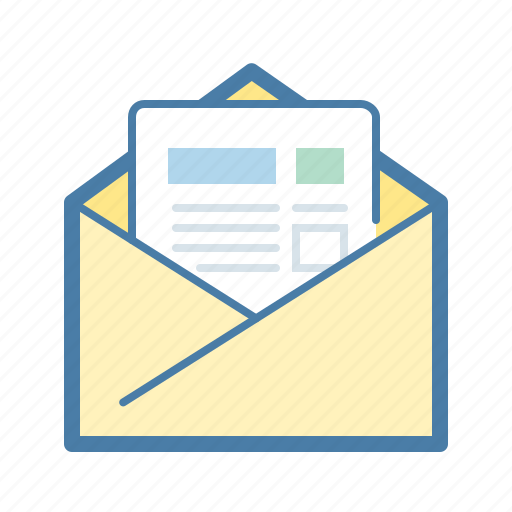 email, letter, mail, marketing, news feed, rss, subscribe icon