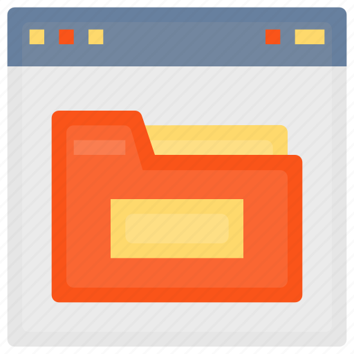 browser, document, file, folder, interface, page, web, website icon