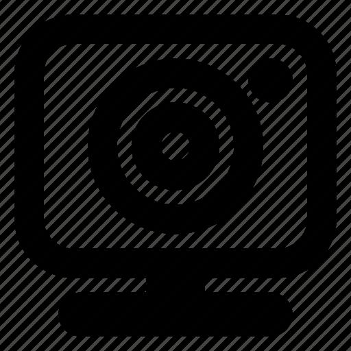 cam, camera, chat, live, stream, web, webcam icon