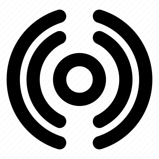 antenna, broadcast, live, mobile, online, signal, web icon