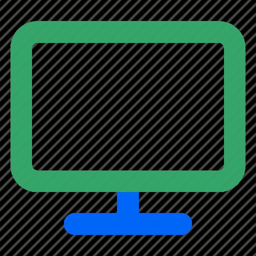 computer, desktop, display, monitor, pc, web, wide icon