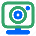 cam, camera, chat, live, stream, web, webcam icon