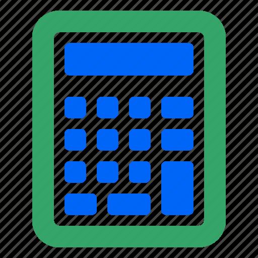 business, calculate, calculator, education, finance, math, web icon
