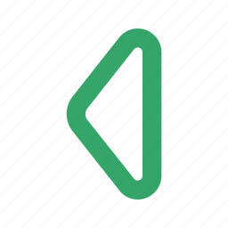 arrow, direction, left, side, sign, straight, web icon
