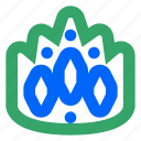 achievement, crown, king, trophy, web, win, winner icon