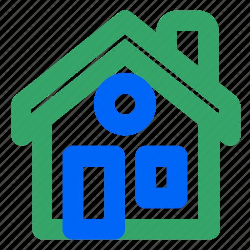apartment, home, homepage, page, return, ui, web icon