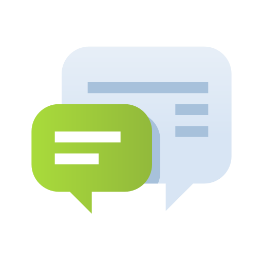 Bubble, chat, communication, contact, conversation, talk, website icon - Free download