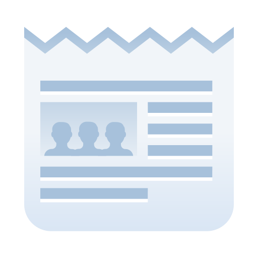 article, media, news, newspaper, online, paper, website icon