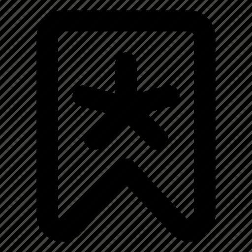 bookmark, star, website icon
