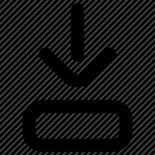 Arrow, download, website icon - Download on Iconfinder