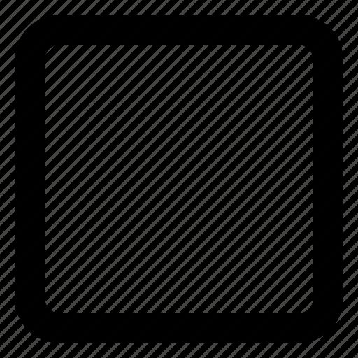 box, maximize, website, window icon