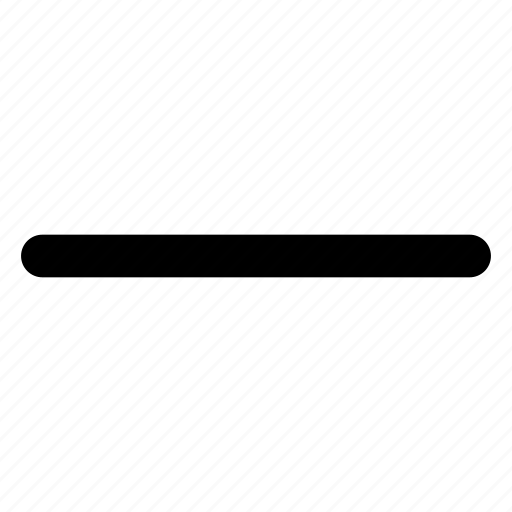 minimize, minus, window icon
