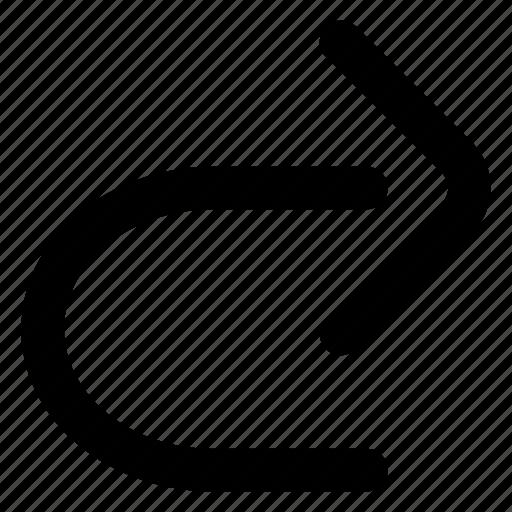 arrow, redo, website icon