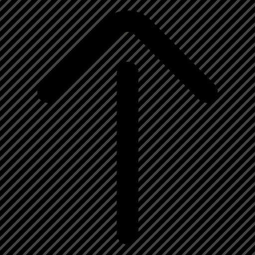 arrow, up, website icon