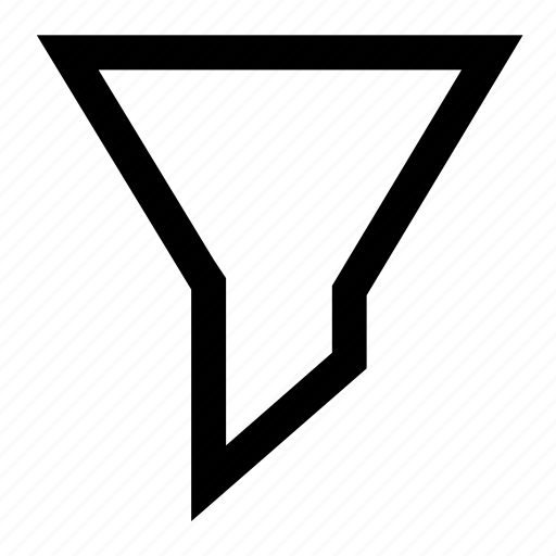 filter, filtering, funnel, sort, sorting, tools icon