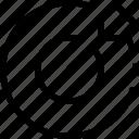 ascending, benefits, chart, progress, sort icon
